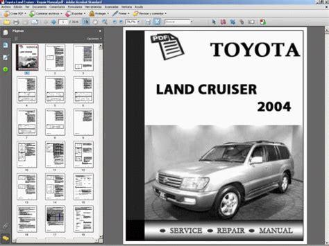 toyota land cruiser 2004 service manual download repair service manual pdf toyota land cruiser workshop service repair manual ebay