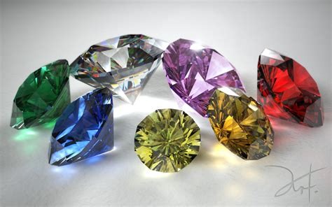 brilliant cut jewels by the 5 on deviantart