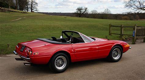 ferrari classic convertible ferrari gts 4 daytona spider classic driver magazine