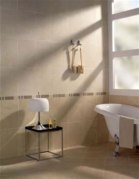 Bathroom Tiles   Marque Marfil Wall Tile   Cream Stone