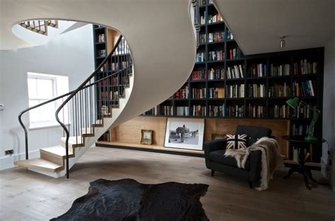 staircase bookshelves designs that prove staircases and bookshelves make a great duo