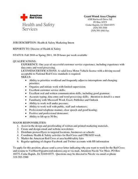 Objective For Resume For Internship 28 Perfect Resume Templates For Internship Students