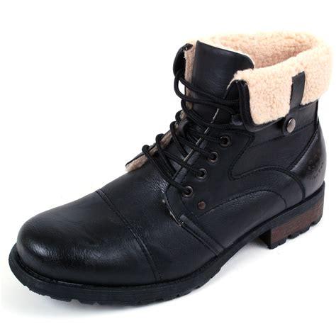 mens faux fur boots mens faux fur boots b3 aviator bomber faux sheepskin