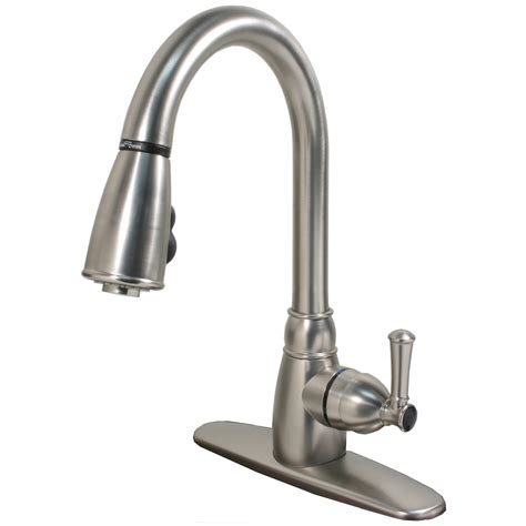 pull spray kitchen faucet single handle non metallic kitchen faucet with pull