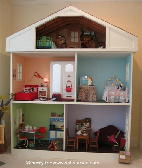 american girls doll house another american girl doll sized dollhouse doll diaries