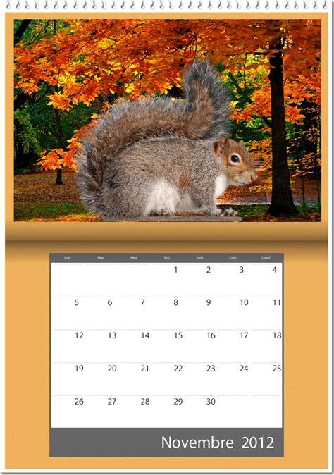 Calendrier Novembre 2012 Je Partage Mes Passions Page 988