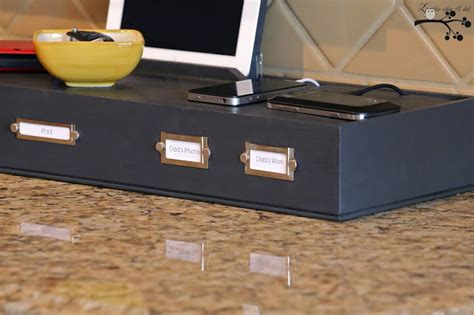 diy charging table do it yourself clever charging stations decorating your