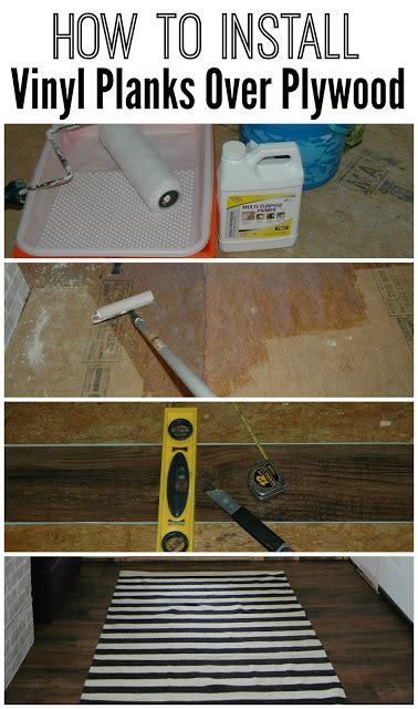 mudroom progress installing vinyl plank flooring