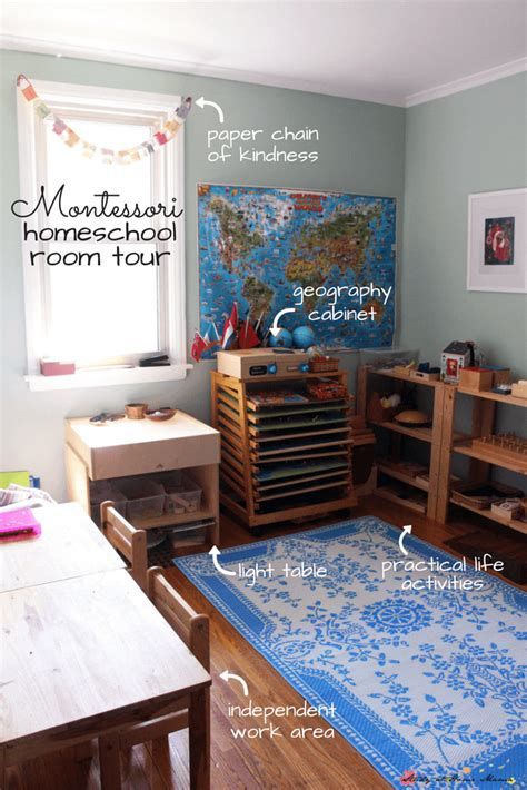 Self Design Homeschool Montessori Homeschool Room Tour Study At Home