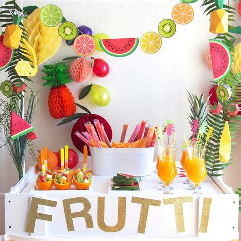 Decoration Pour Fete by D 233 Co Tropicale Pour Anniversaire D 233 Co Tropicale Pour F 234 Te