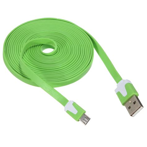 4connect Micro Usb Cable Sides Smart Data Cable For Android Ios universal 3m 10ft micro usb data sync cable charger for smart phone alex nld