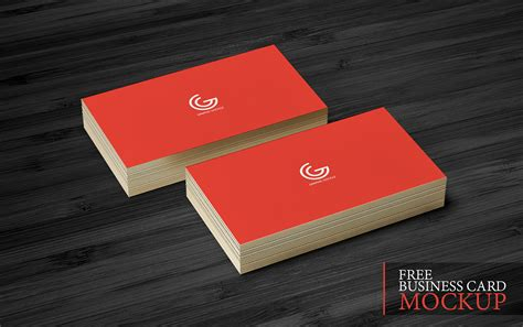 card for free business card mockup graphic tasty graphic