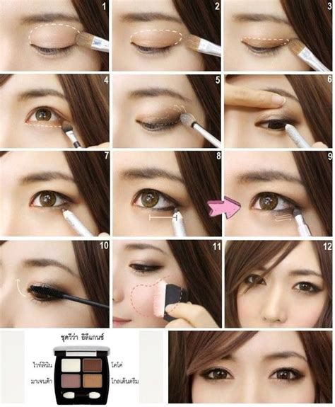 natural japanese makeup tutorial asian eye make up light makeup tutorial for east