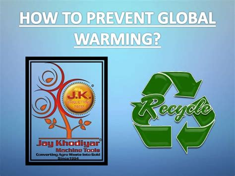 how to stop a from how to prevent global warming
