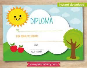 preschool certificate templates certificate template 49 free printable word excel pdf