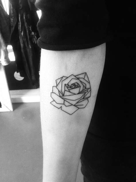 tattoo geometric rose james nidecker amsterdam tattoosjames nidecker l new