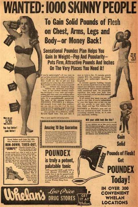 vintage fitness ads of the 1950s