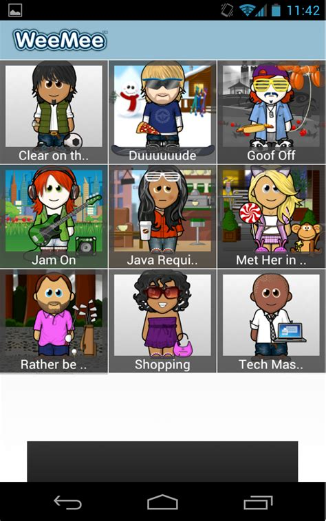 Weeworld Gift Cards - amazon com weemee avatar creator appstore for android