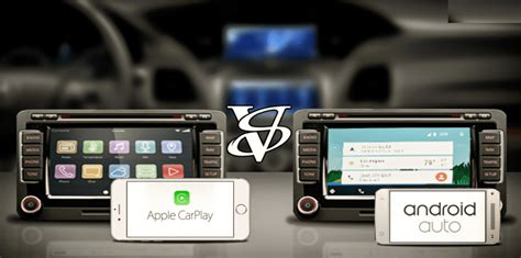 apple carplay vs android auto infographic - Carplay Android