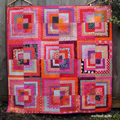 Half Log Cabin Quilt Pattern by 1000 Images About Quilts On Triangle Quilts
