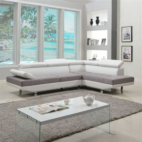 2 tone leather sofa modern living room furniture review find the best one