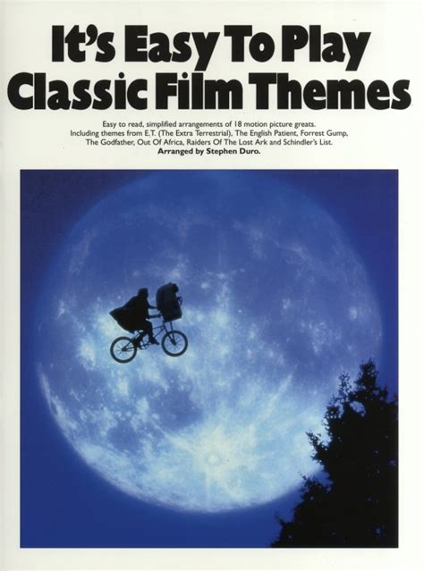 themes in the pianist film it s easy to play classic film themes sheet music