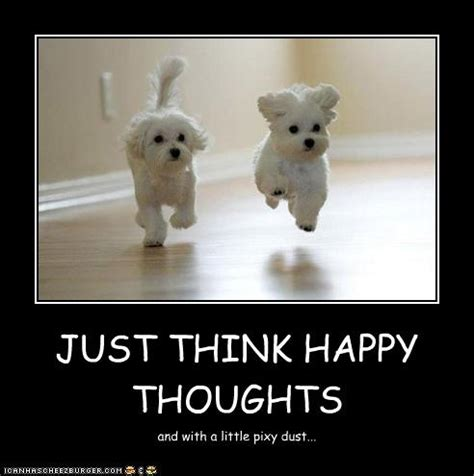 Happy Thoughts Meme - positive attitude meme
