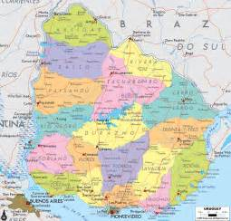map uruguay south america map of uruguay 187 travel