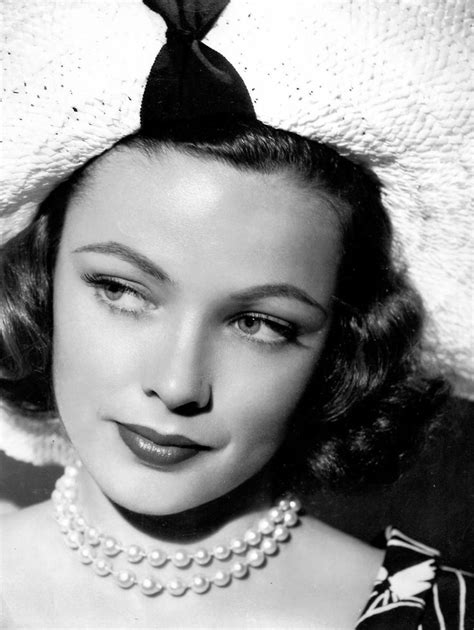 438 best images about Gene Tierney on Pinterest