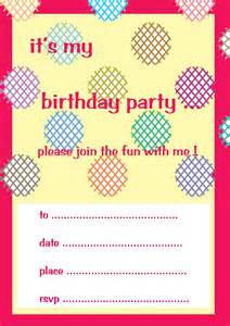 is crafty the surface pattern design birthday invitation cards and tags