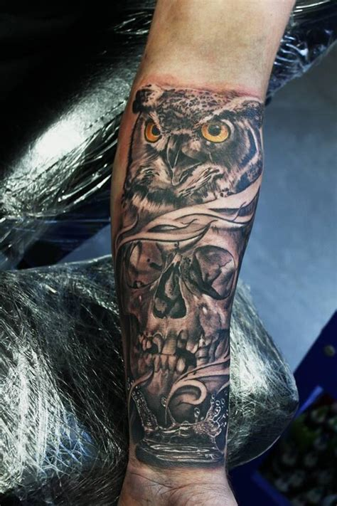 skull forearm tattoos tattoos and designs page 99