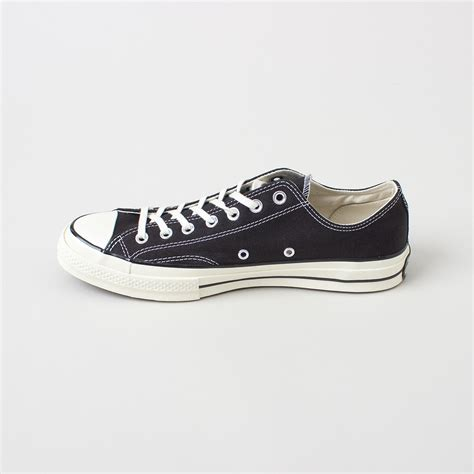 Converse Allstar Chuck Low converse chuck all 70 low top in black for