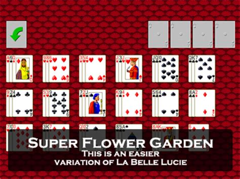 Flower Garden Solitaire Play Three Shuffles And A Draw Solitaire