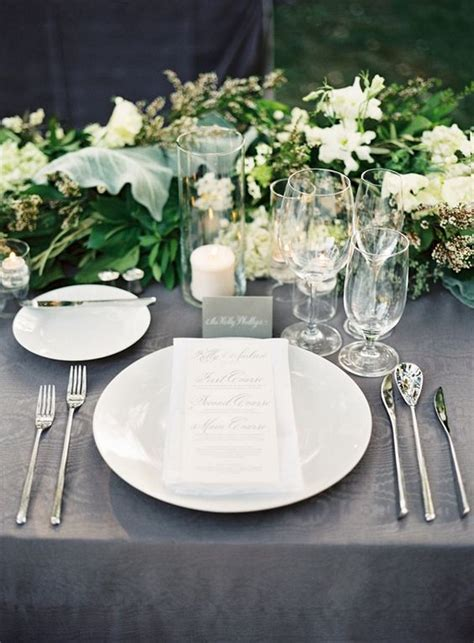 elegant table settings 12 super elegant wedding table setting ideas