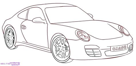 Car Drawing Step By Step Easy