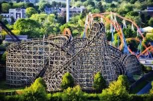 Park Roller Coaster Wildcat Roller Coaster Hershey Park Photograph By Bill
