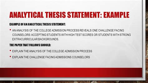 the best way to write a thesis statement with examples