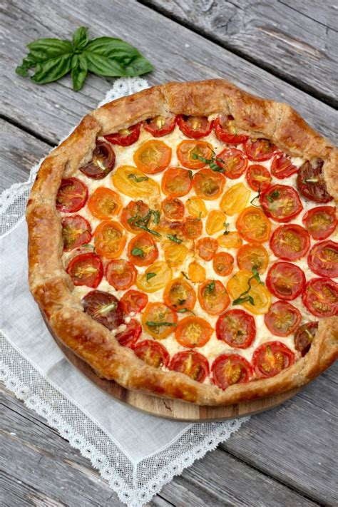 easy sweet and savory cherry tomato tart 100 cherry tomato recipes on pinterest dried tomatoes