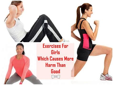 exercises for which causes more harm than