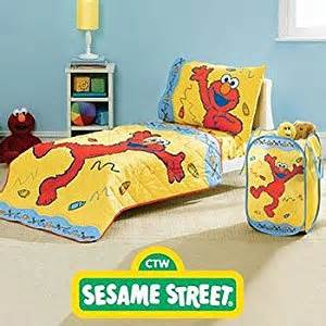 Elmo Crib Bedding Elmo Sesame 3pc Toddler Crib Comforter Quilt Bedding Set Toddler