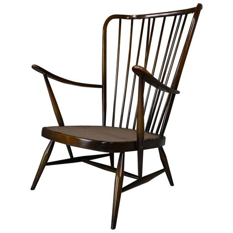ercol armchair cushions genuine quot double bend bow quot ercol armchair with original