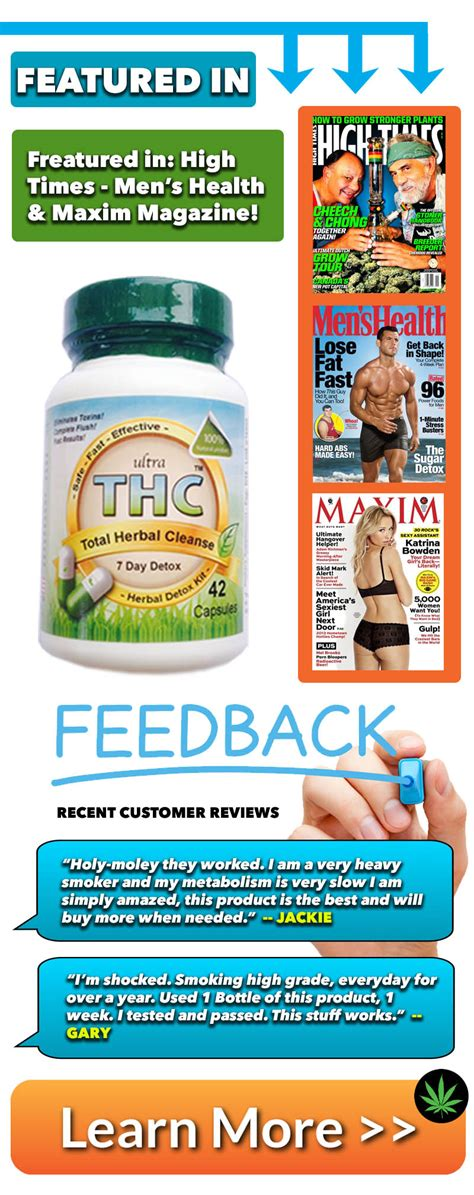 Test Clear 10 Day Detox Reviews by Ultra Thc Detox Pills For Detox Pills Pass A
