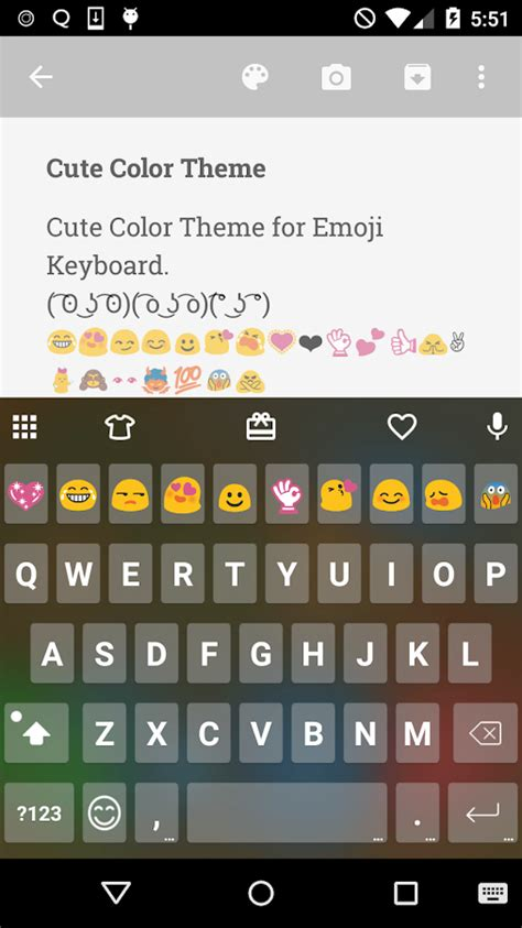 add emoji to android keyboard color skin emoji keyboard android apps on play
