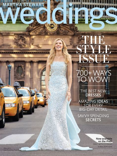 Martha Stewart Weddings by Sneak Peek Martha Stewart Weddings Fall 2012 Issue