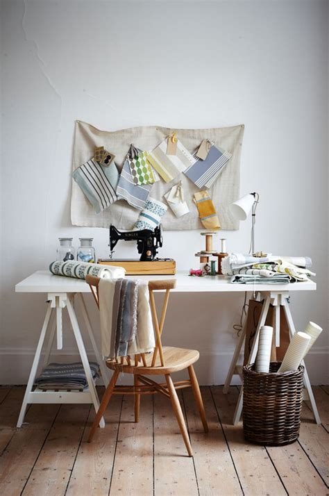 a sewing table using ikea s finnvard trestles 79 ideas