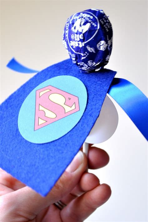 9 best images of superhero lollipop printables printable