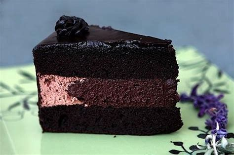 Link Black And White Chocolate Cake by Pitch Black Chocolate Cake And Icing Recipes Home