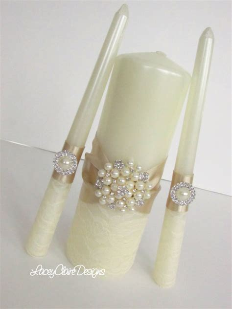 Wedding Ceremony With Unity Candle by Lace Unity Candles Wedding Unity Candle Ceremony Lace Unity