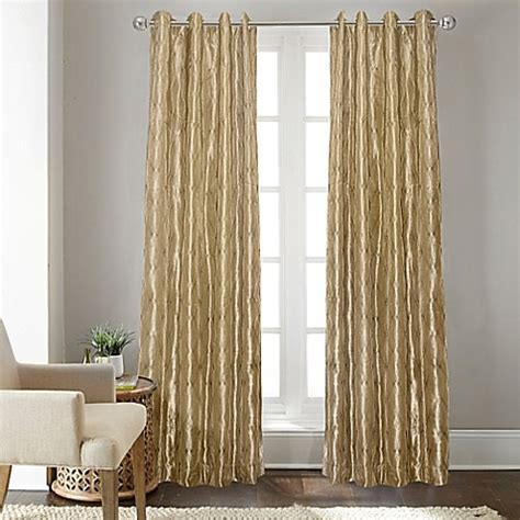 108 inch grommet curtains buy fresno 108 inch grommet top window curtain panel in