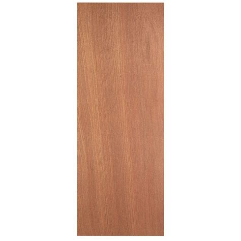 jeld wen woodgrain flush unfinished red oak single prehung jeld wen 84 in x 84 in woodgrain flush unfinished